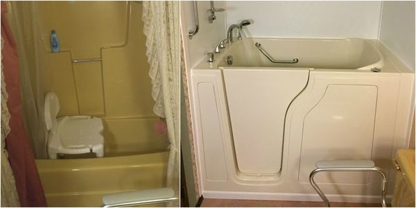 Before & After Walk In Tub in Waverly, TN (1)