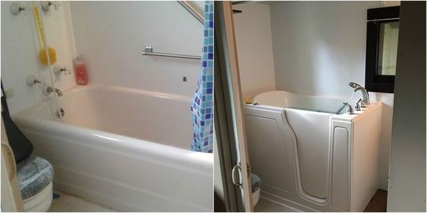 Before & After Shower/Tub Conversion in Fairview, TN (1)