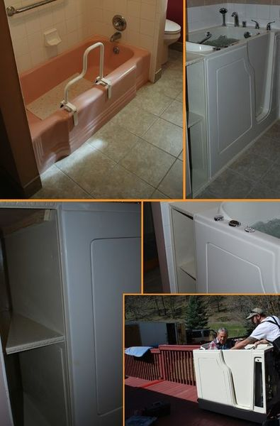 Before & After Installing Walk In Tub in Spring Hill, TN (1)